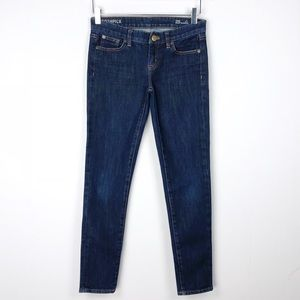 J. Crew Toothpick Ankle Skinny Jeans Size 25